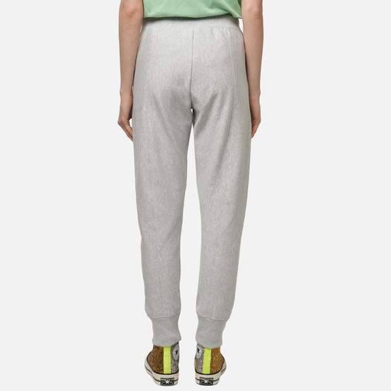 Женские брюки Champion Reverse Weave Rib Cuff Stretch Reverse Weave Terry Light Grey