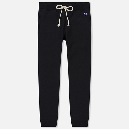 Женские брюки Champion Reverse Weave Slim Fit Joggers Black