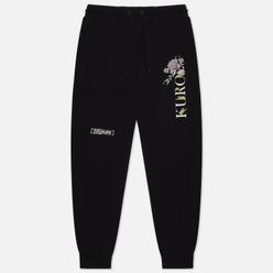 Женские брюки Evisu Evisukuro Floral Black