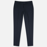 Женские брюки Gant Rugger Hopsack Evening Blue фото- 0