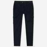 Женские брюки maharishi Cargo Garment Dyed Black фото- 0