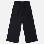 Женские брюки Maharishi Chennai Garmnent Dyed Black фото- 0