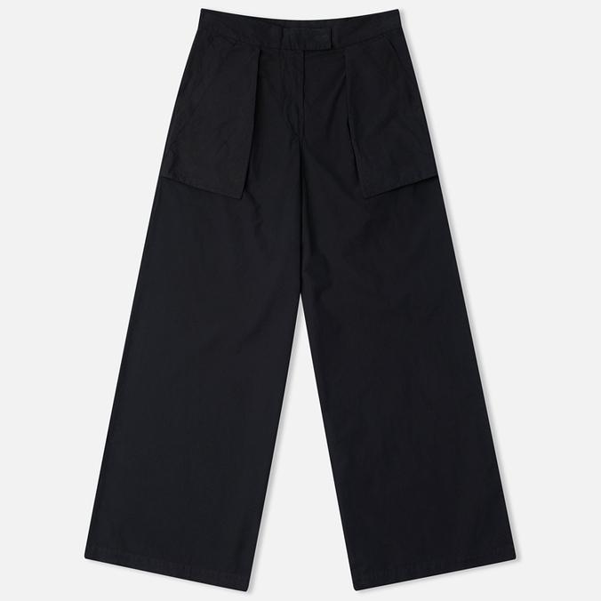 Maharishi Chennai Garmnent Women's Trousers Dyed Black