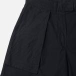 Женские брюки Maharishi Chennai Garmnent Dyed Black фото- 3