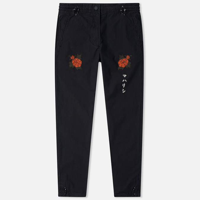 Maharishi Hanafuda Original Women's Trousers Black