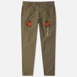 Женские брюки Maharishi Hanafuda Original Maha Olive фото- 0