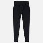 Женские брюки Maharishi Organic Cotton Rib Track Black фото- 0
