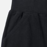 Женские брюки Maharishi Organic Cotton Rib Track Black фото- 1