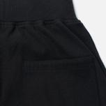 Женские брюки Maharishi Organic Cotton Rib Track Black фото- 2