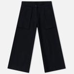 Женские брюки maharishi Raw Cropped Black фото- 0