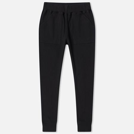 Женские брюки maharishi Rib Organic Cotton Black