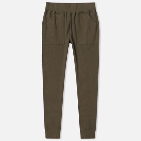 Женские брюки maharishi Rib Organic Cotton Maha Olive