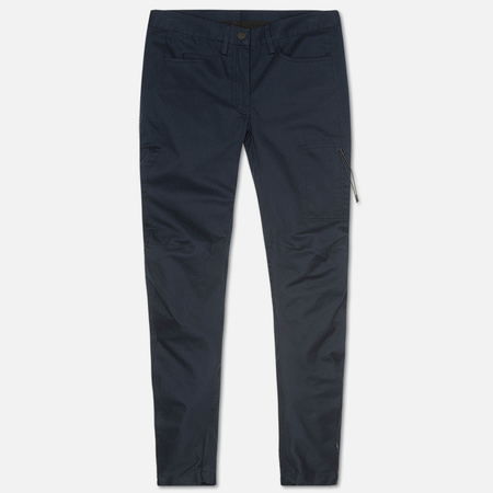 maharishi Slouch Curve Women's Trousers Dark Navy