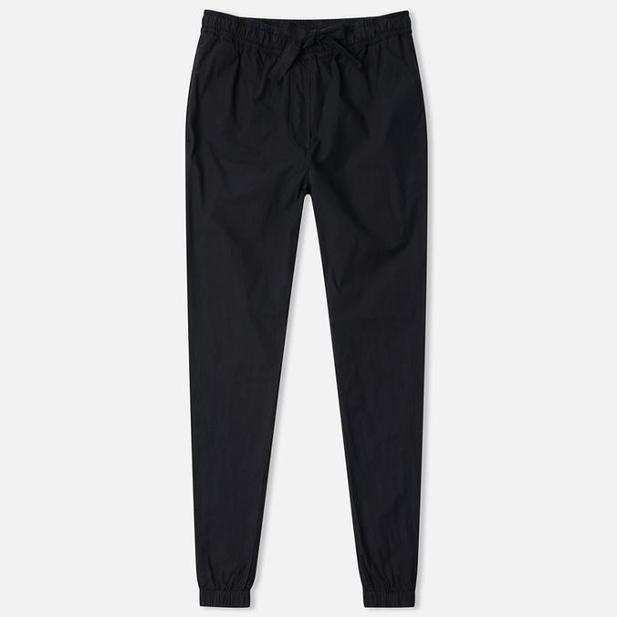 Женские брюки Maharishi Woven Track Garment Dyed Black