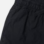 Женские брюки Maharishi Woven Track Garment Dyed Black фото- 1