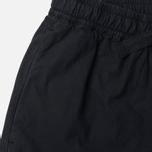 Maharishi Woven Track Garment Dyed Women's Trousers Black photo- 1