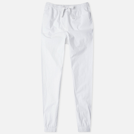 Maharishi Woven Track Garment Dyed Women's Trousers Optic White