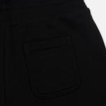 Женские брюки Maison Kitsune Classic Jog Tricolor Fox Patch Black фото- 2