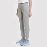 Женские брюки Maison Kitsune Classic Jog Tricolor Fox Patch Grey Melange фото- 6