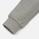 Женские брюки Maison Kitsune Classic Jog Tricolor Fox Patch Grey Melange фото- 5