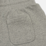 Женские брюки Maison Kitsune Classic Jog Tricolor Fox Patch Grey Melange фото- 2