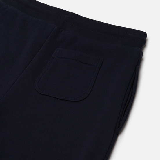 Женские брюки Maison Kitsune Classic Jog Tricolor Fox Patch Navy