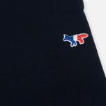 Женские брюки Maison Kitsune Classic Jog Tricolor Fox Patch Navy фото- 4