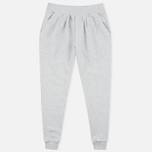 Женские брюки Maison Kitsune Fancy Jog Grey Melange фото- 0