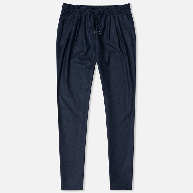 Женские брюки Maison Kitsune Flannel Joyce Casual Dark Navy