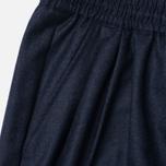 Женские брюки Maison Kitsune Flannel Joyce Casual Dark Navy фото- 2