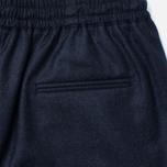 Женские брюки Maison Kitsune Flannel Joyce Casual Dark Navy фото- 3
