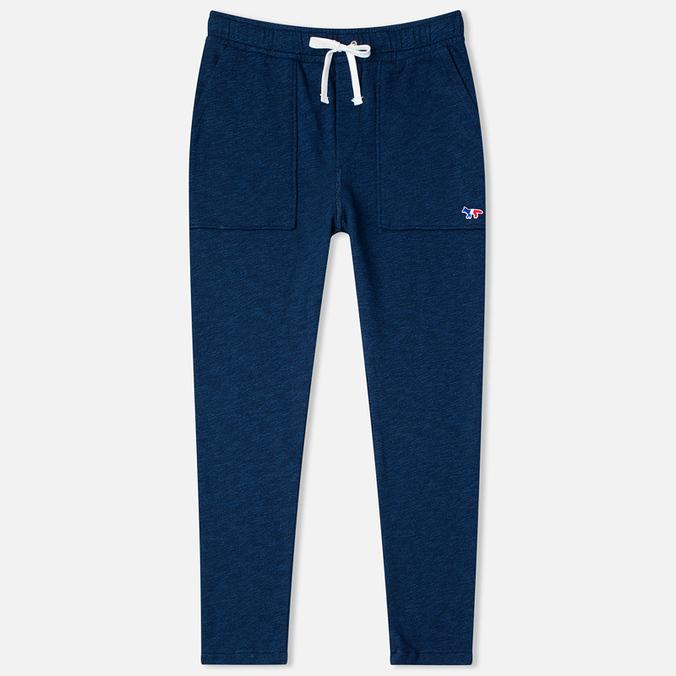 Женские брюки Maison Kitsune Fleece Jog Indigo