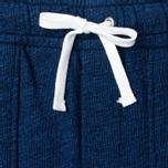 Женские брюки Maison Kitsune Fleece Jog Indigo фото- 1