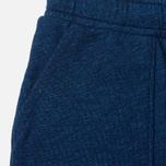 Женские брюки Maison Kitsune Fleece Jog Indigo фото- 2