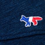 Женские брюки Maison Kitsune Fleece Jog Indigo фото- 3