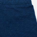 Женские брюки Maison Kitsune Fleece Jog Indigo фото- 4