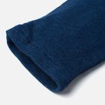 Женские брюки Maison Kitsune Fleece Jog Indigo фото- 5