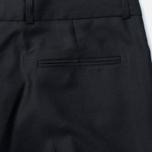 Женские брюки Maison Kitsune Plain Masculine Black фото- 3