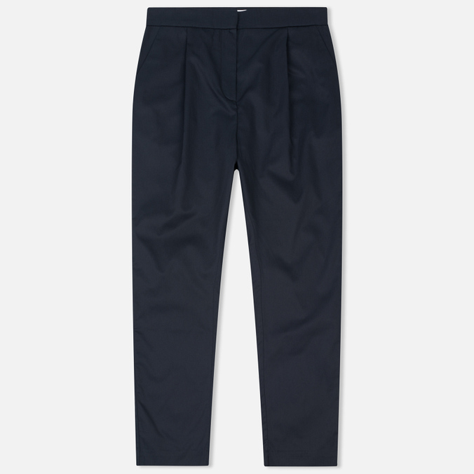Женские брюки Norse Projects Disa Washed Cotton Dark Navy