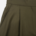 Norse Projects Disa Wool Women's Trousers Dark Olive photo- 1
