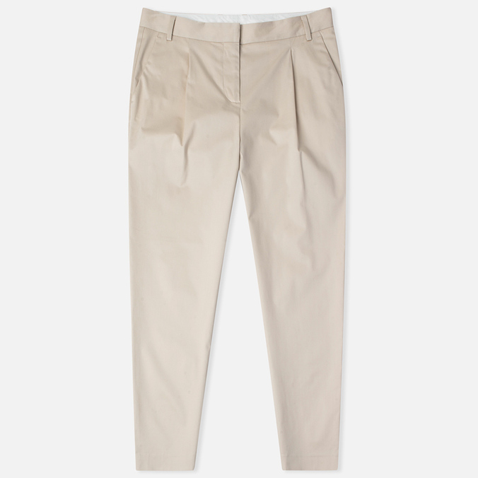 Женские брюки Norse Projects Erika Cropped Cotton Khaki