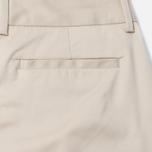 Женские брюки Norse Projects Erika Cropped Cotton Khaki фото- 4