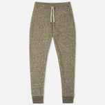 Norse Projects Tove Wool Sweat Women's Trousers Dark Olive Melange photo- 0