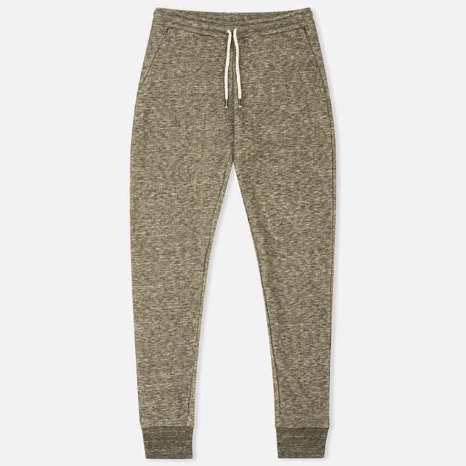 Norse Projects Tove Wool Sweat Women's Trousers Dark Olive Melange