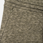 Norse Projects Tove Wool Sweat Women's Trousers Dark Olive Melange photo- 1
