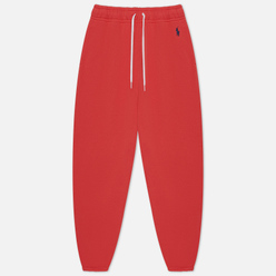 Женские брюки Polo Ralph Lauren Fleece Relaxed Fit Spring Red