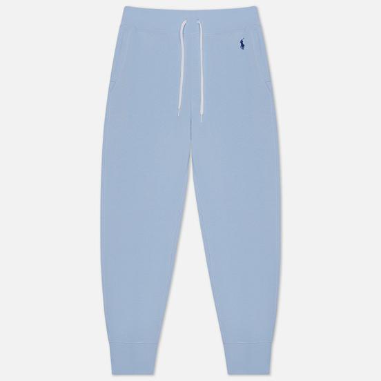 Женские брюки Polo Ralph Lauren Polo Pony Mini Logo Ankle Featherweight Fleece Elite Blue