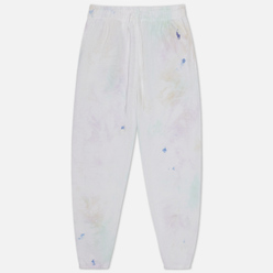 Женские брюки Polo Ralph Lauren Tie-Dye Fleece Pastel Paintsplatter