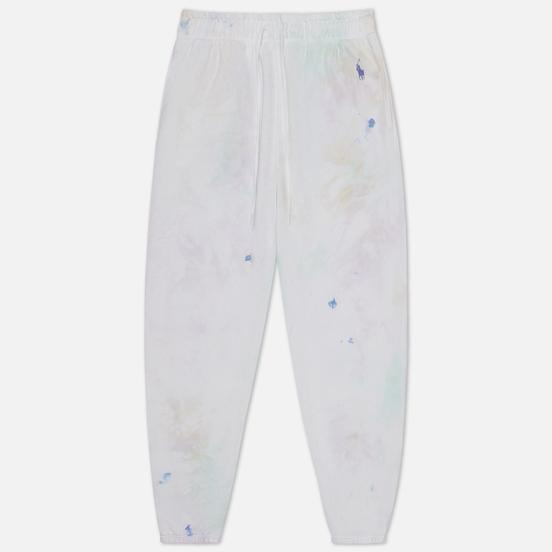 Женские брюки Polo Ralph Lauren Tie-Dye Fleece Pastel Paintsplatter
