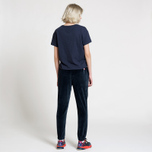 Женские брюки Tommy Jeans Crest Velvet Dark Sapphire фото- 2